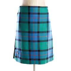 Made in Scotland, 6 Yard Machined Kilt in Flower of Scotland Tartan