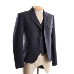 Grey Tweed Kilt Jacket and Waistcoat K1 Arrochar Contemporary Style