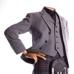 K2 Jacket and Waistcoat, Light Grey Arrochar