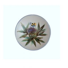 Thistle, Small Geo Dish by Highland Stoneware