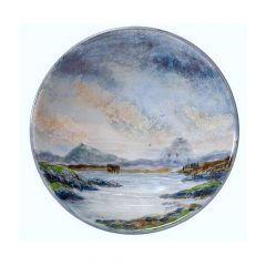 Landscape, Large Flared Bowl by Highland Stoneware