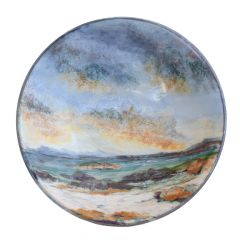 Seascape, Large Flared Bowl by Highland Stoneware