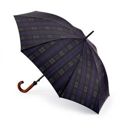 Huntsman Two Black Watch Umbrella by Fulton