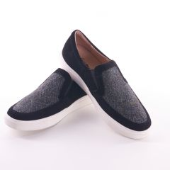 Mens Harris Tweed Herringbone Trainers by Snow Paw