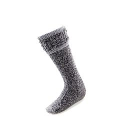 Charcoal Kilt Socks by House Of Cheviot