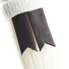 Peat, Pure Wool Garter Flashes