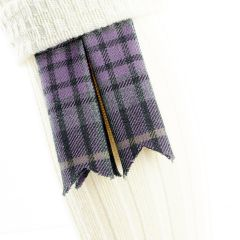 Jaggy Thistle, Pure Wool Garter Flashes
