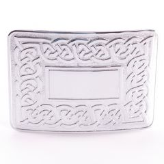 Celtic Link Designed Belt Buckle