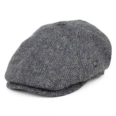 Grey, Hudson Harris Tweed Cap