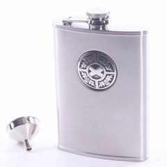 Thistle and Saltire 8oz Stainless Steel Hip Flask