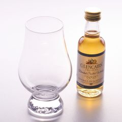 Glencairn Glass and Scotch Whisky Miniature 5cl