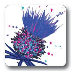 Pack of 4 Mixed Thistle Coasters
