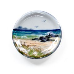 Seascape Coaster by Highland Stoneware
