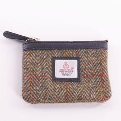 Country Green Harris Tweed Coin Purse