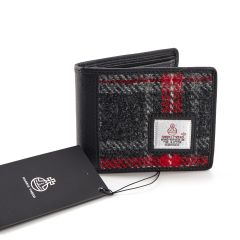 Hebridean Fire Harris Tweed Tri-Fold Wallet