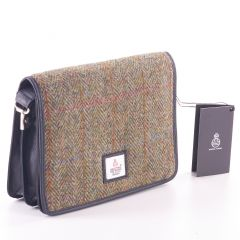 Ladies Country Green Harris Tweed Shoulder Bag