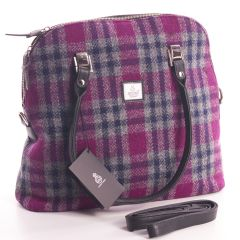 Pink Check, Large Bowling Bag