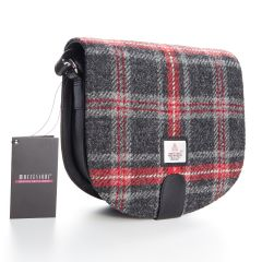 Hebridean Fire Harris Tweed Small Cross Bag