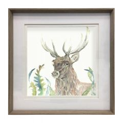 Large Stag Frame by Voyage Maison