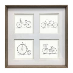 Large Penny Farthing Frame by Voyage Maison