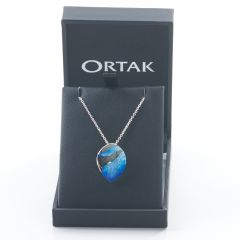 Sterling Silver Mirage Pendant, Oasis by Ortak
