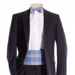 Traditional Tartan Cummerbund and Bow Tie in Musselburgh