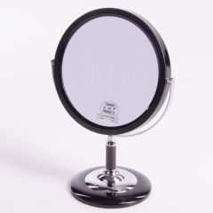 Mens Shaving Mirror Black supplied by Taylors of Old Bond Street