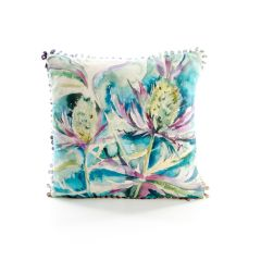 Sea Thistle Mini Cushion by Voyage Maison