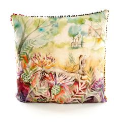 Hare & Thistles Cushion by Voyage Maison