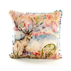 Wandering Stag Mini Cushion by Voyage Maison