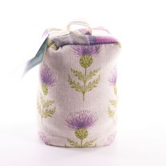 Lavender Filled Nessy Damson Door Stop by Voyage Maison