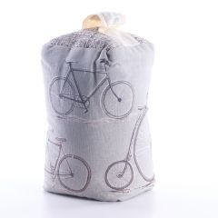 Lavender Scented Bicycles Door Stop by Voyage Maison