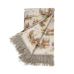 Caledonia Forest Plum Throw by Voyage Maison