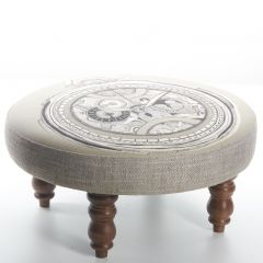 Clocca, Cato Foot Stool by Voyage Maison
