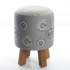 Tempus, Monty Foot Stool by Voyage Maison