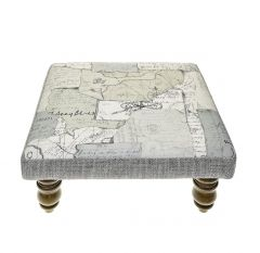 Explorer, Kastra Foot Stool by Voyage Maison
