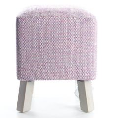 Orchid, Toby Foot Stool by Voyage Maison