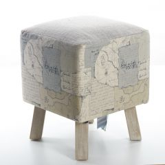 Explorer, Toby Foot Stool by Voyage Maison