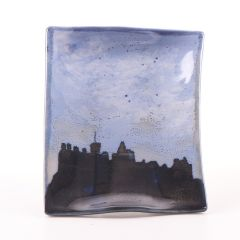 Edinburgh Skyline, Rectangle X-Small Dish by Highland Stoneware