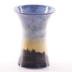 Edinburgh Skyline, Small Vase  by Highland Stoneware