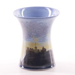 Edinburgh Skyline, X-Small Vase by Highland Stoneware