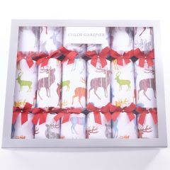 Luxury Stag Design Christmas Crackers