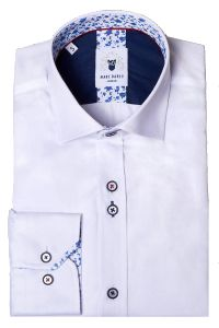White, Alfie Long Sleeve Shirt