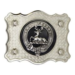 Clan Crest, Antique Belt Buckle
