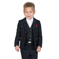 3 Piece Childrens Eton Suit by Marc Darcy