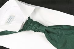 Cravat Pre Tied Bottle Green