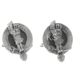 Clan Crest Cufflinks, Piper