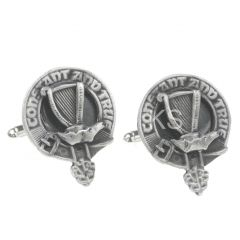 Clan Crest Cufflinks, Rose