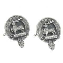 Clan Crest Cufflinks, Scott