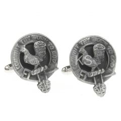 Clan Crest Cufflinks, Sinclair